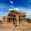 Sasbahu temple in Gwalior fort — Stock Photo