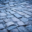 Cobblestone pavement background - Photo