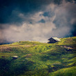 Serenity serene lonely scenery background concept - Stok fotoğraf