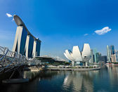 Singapore skyline daytime — Stock Photo