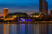Esplanade Theatre in Singapore — Stock Photo