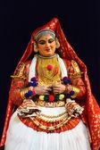 Danza kathakali. bhava bhavanam festival. septiembre de 2009. chenna — Foto de Stock