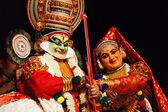 カタカリ ダンス。bhava bhavanam 祭。2009 年 9 月。チェンナイ — ストック写真