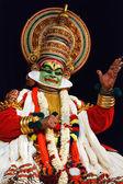 Danza kathakali. bhava giovanna festival. settembre 2009. chenna — Foto Stock