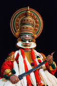 Kathakali dance. Bhava Bhavanam Festival. September 2009. Chenna — Photo