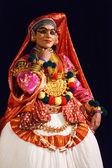 Tańca kathakali. festiwal bhavanam bhava. września 2009. chenna — Zdjęcie stockowe