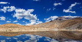 Mountain lake in Himalayas — Stock Photo