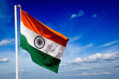 India flag of India — Stock Photo