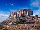 Mehrangarh Fort, Jodhpur, Rajasthan, India — Stock Photo