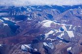 Himalayas mountains aerial view — Stock Photo