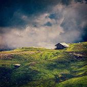 Lugn lugn ensam landskap bakgrund koncept — Stockfoto