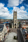 Saint Bavo Cathedral. Ghent, Belgium — Stock Photo