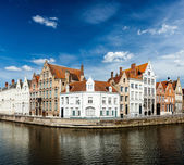 Bruges canals — Stock Photo
