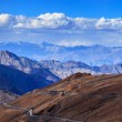 Stock Photo: Road in Himalayas with mountains