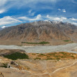 Spiti valley and Key gompa in Himalayas — Stock Photo