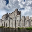 Gravensteen Castle in Ghent — Stock Photo #34470567