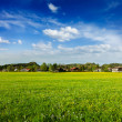 German countryside and village — Stock Photo