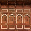 Wall decoration in Agra fort — Stock Photo #34471063