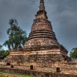 Stock Photo: Old chedi in Sukhothai
