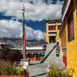 Thiksey monastery. India — Stock Photo