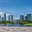 Central Business District of Kuala Lumpur — Stock Photo