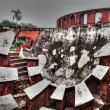 Jantar Mantar - ancient observatory — Stock Photo