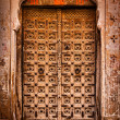 Wooden old door vintage background — Stock fotografie