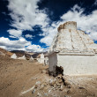 Stock Photo: Buddhist chortens, Ladakh