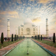 Taj Mahal, Agra, India — Stock Photo #34472599