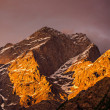 Stock Photo: Himalayas mountains