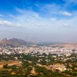 Holy city Pushkar. Rajasthan, India — Stock Photo