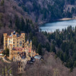 Castello di Hohenschwangau, Germania — Foto Stock #34472905