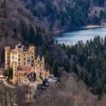 Замок Хоэншвангау, Германия — Стоковое фото
