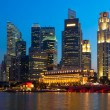 Stock Photo: Singapore downtown