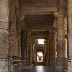 Jain temple in Ranakpur — Stock Photo