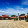 Stock Photo: LiShShuang Lin Monastery