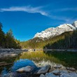 Frillensee lake and Zugspitze in Germany — Stock Photo