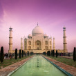 Stock Photo: Taj Mahal on sunset, Agra, India