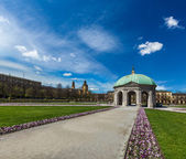Pavilion in Hofgarten. Munich, Germany — Stockfoto