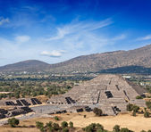 Pyramid of the Moon. Mexico — Stock Photo