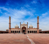 Jama Masjid - mosque in India — Stock Photo