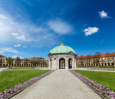 Pavilion in Hofgarten. Munich, Germany — Stock Photo