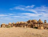 Bada bagh, jaisalmer, rajastão, índia — Foto Stock