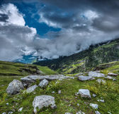 Mountain landscape in Himalayas — Stock Photo
