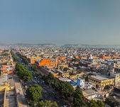 Aerial view of Jaipur, India — Stock Photo