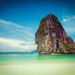 Pranang beach. Krabi, Thailand — Stock Photo #44919217