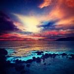 Ocean sunset — Stock Photo #44919293