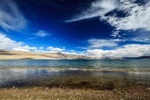 Lake Tso Moriri, Ladakh — Stock Photo