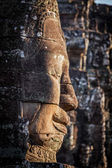 Face of Bayon temple, Angkor, Cambodia — Stock Photo