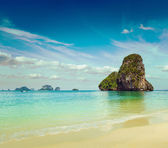 Pranang beach. Krabi, Thailand — Stock Photo